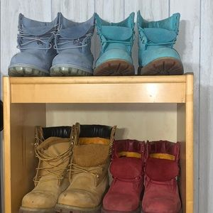 TIMBERLANDS ALL COLORS size 10.5!!